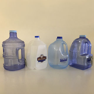 1 gallon water bottles