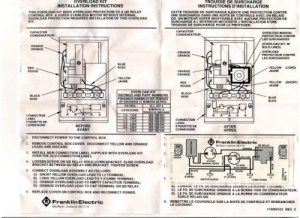 Franklin Overload Kit for 12 hp 230v Control Box Part # 305100904