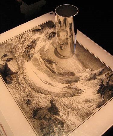 Distorted drawing
