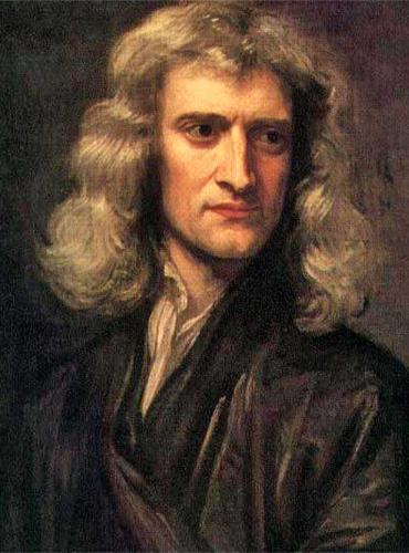 Isaac Newton. Source: Wikipedia
