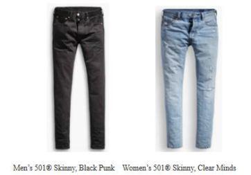 L'ennesimo ritorno degli skinny, i jeans attillati.