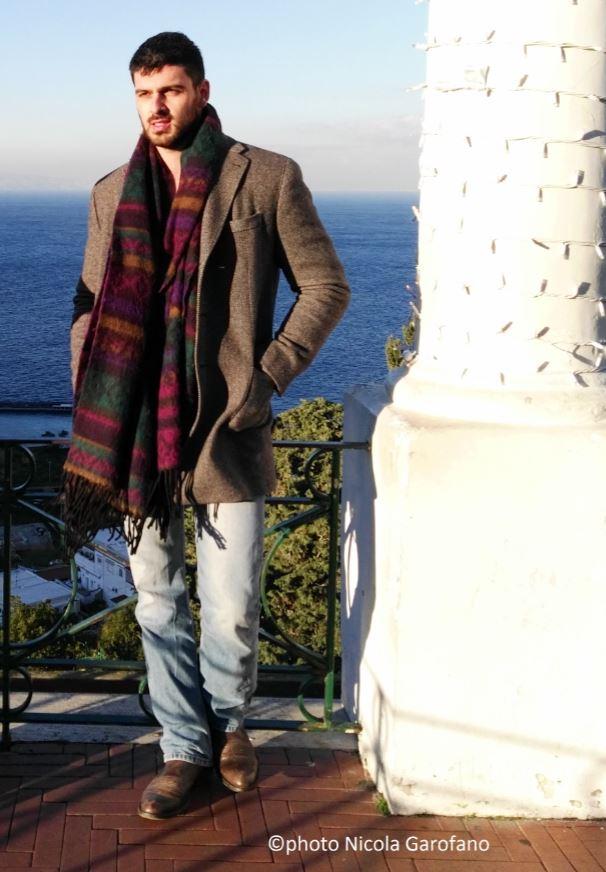 Michele Morrone fotografato a Capri Hollywood 2017 da Nicola Garofano.