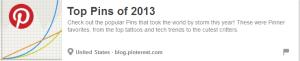 Pinterest2013TopPins