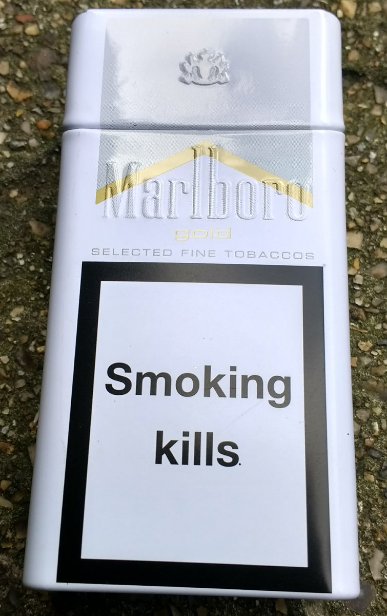 Clever Marketing From Marlboro. 10 pack tin packaging