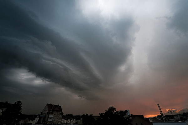 The Cleansing Storms of Spring