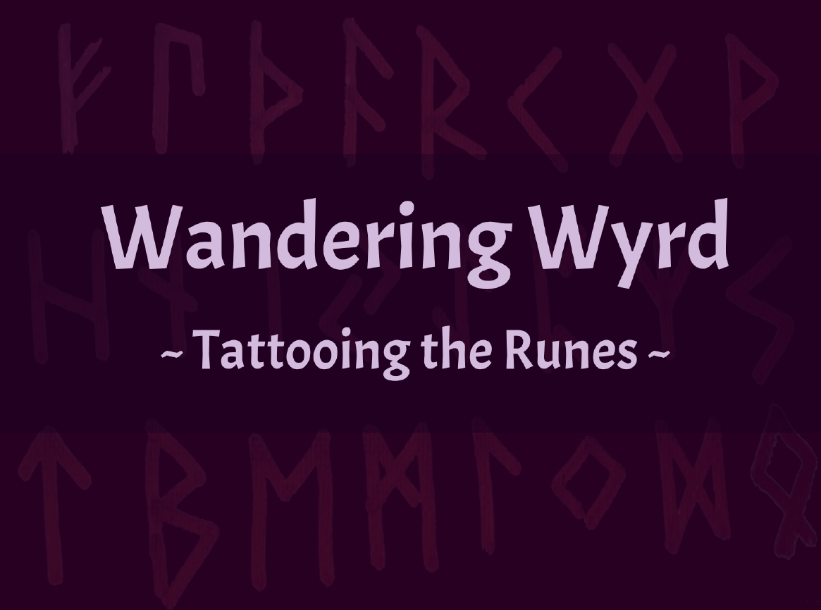 Tattooing the Runes