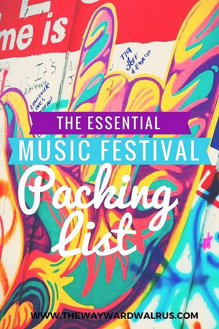 Essential Music Festival Packing List