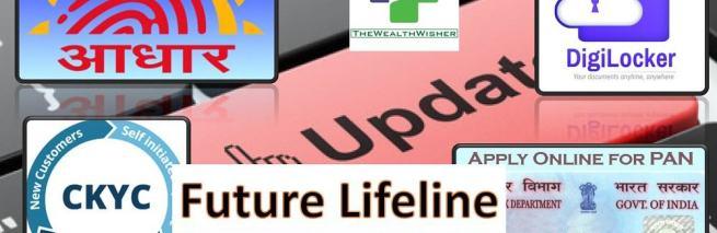 Apply & Update Online – PAN AADHAR CKYC & Digilocker