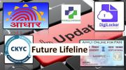 4 Things To Update Online PAN AADHAR CKYC & Digilocker
