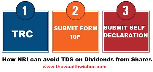 Avoiding TDS on Dividend