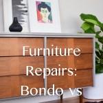 Furniture Repairs Bondo Vs Wood Filler