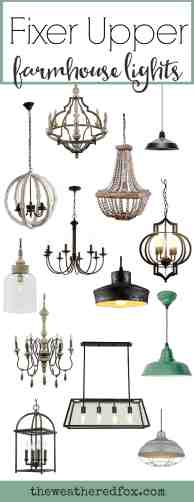 Fixer Upper Lighting For Your Home The Weathered Fox