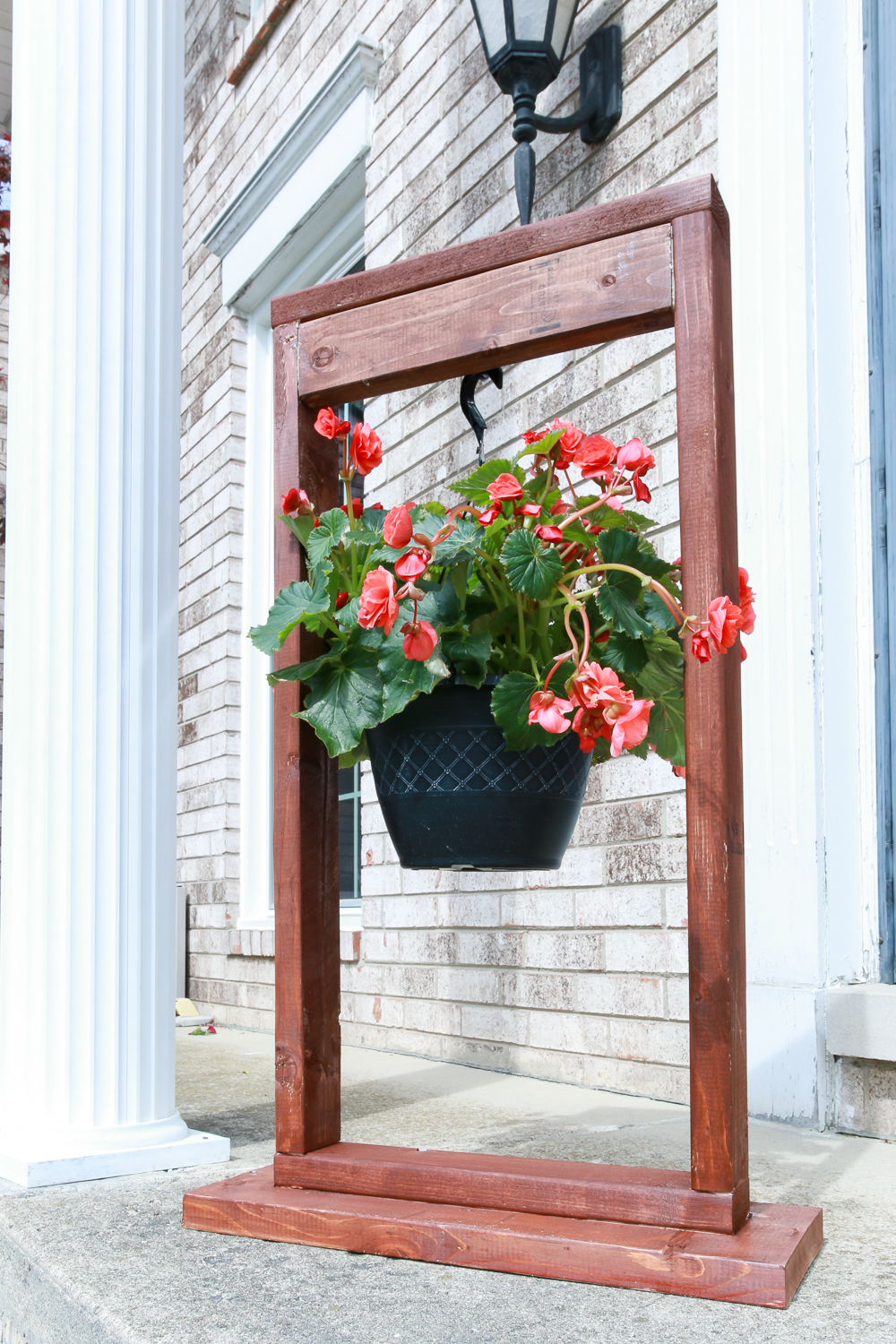 DIY Hanging Plant Stand - The Weathered Fox on Hanging Stand For Plants  id=81229