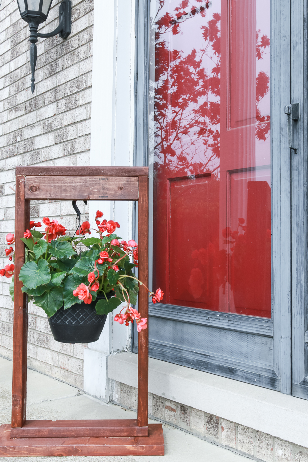 DIY Hanging Plant Stand - The Weathered Fox on Stand For Hanging Plants  id=72505