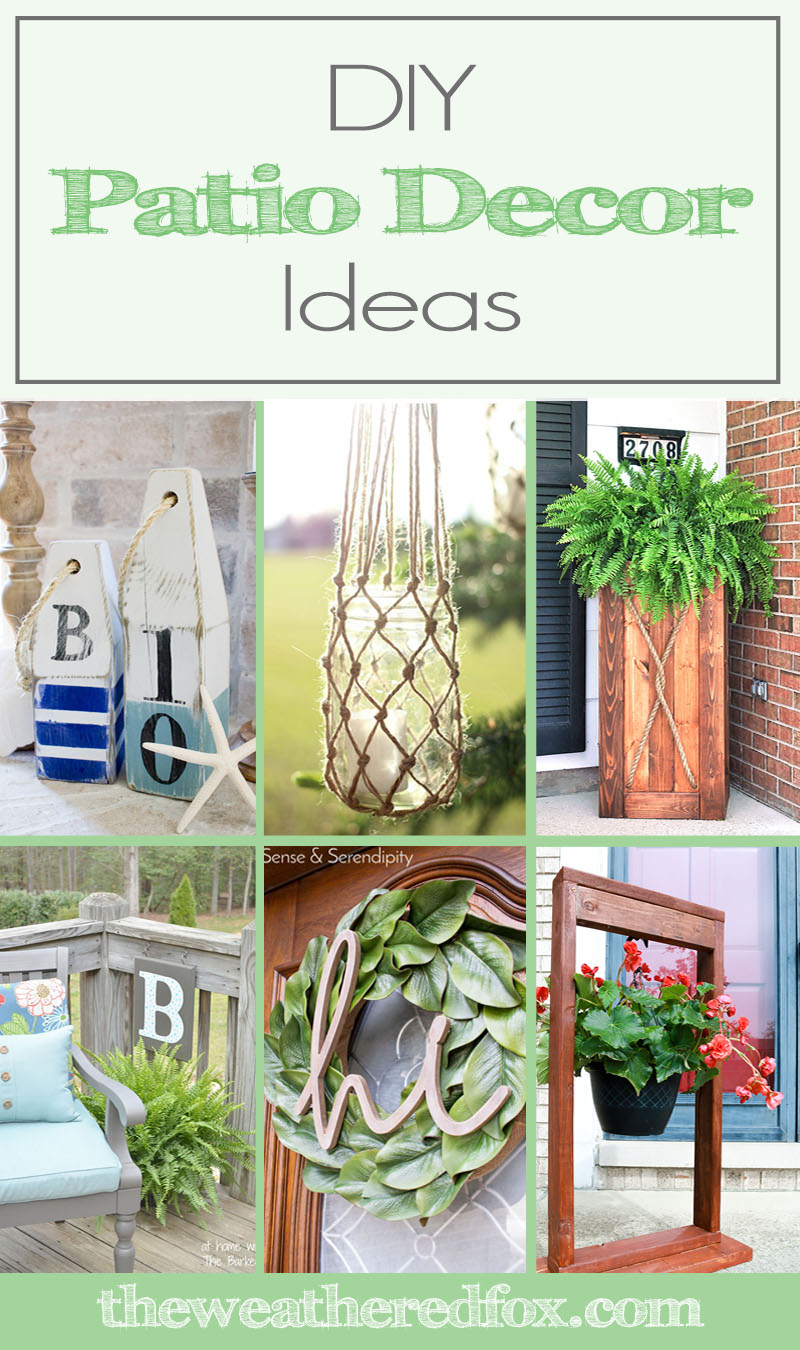 diy patio decor ideas to spruce up your