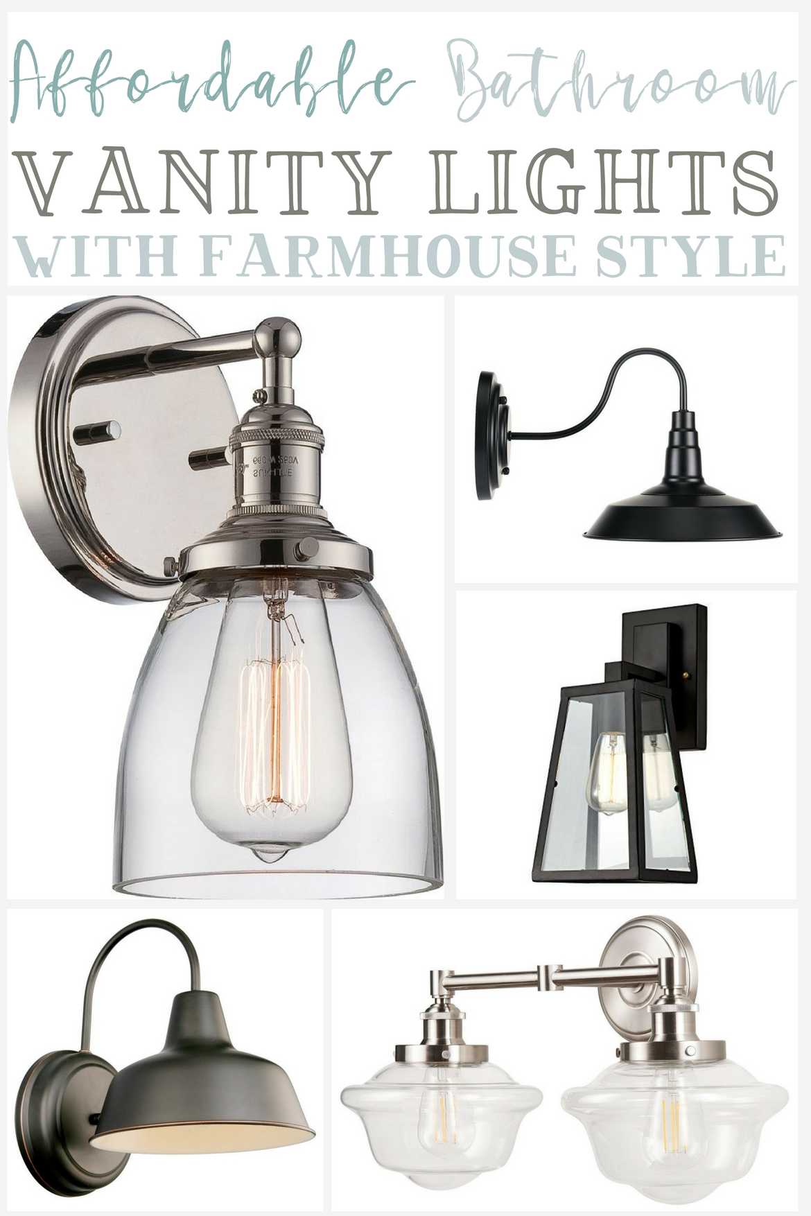 affordable farmhouse bathroom vanity