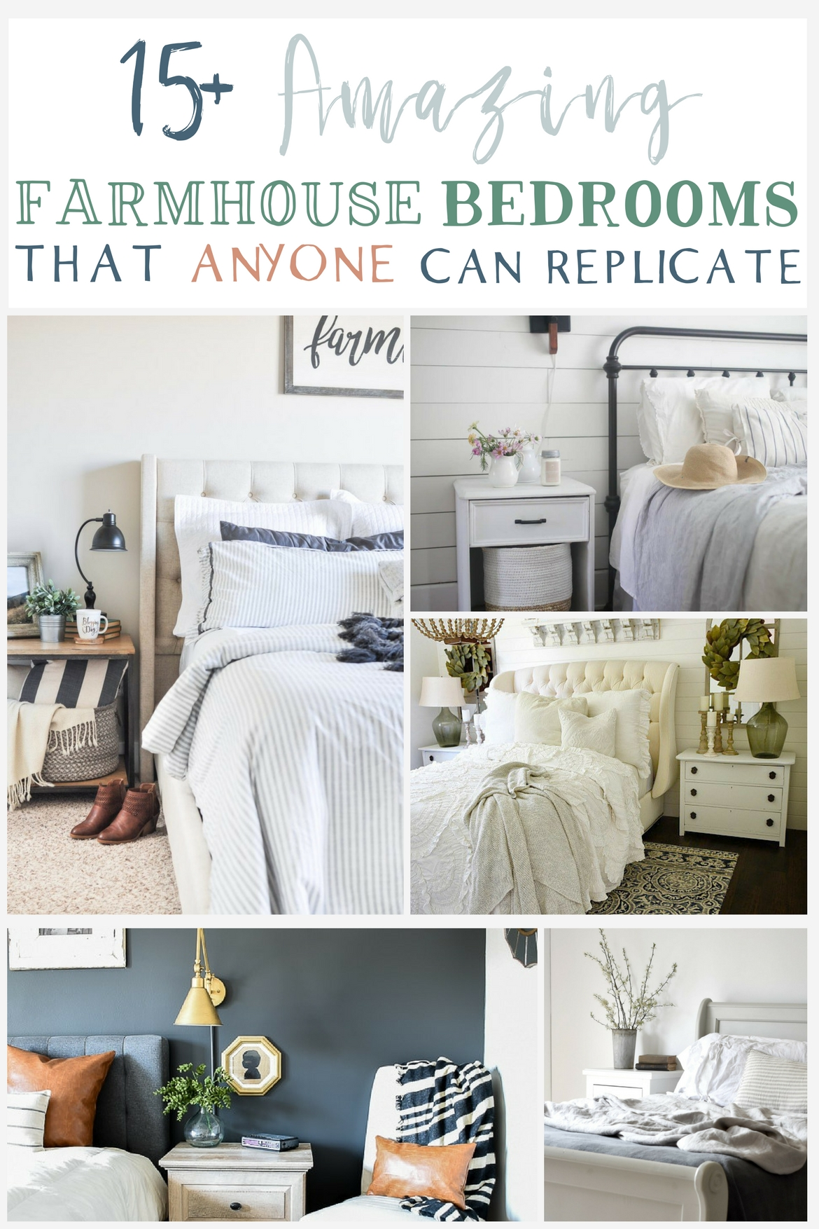 15 Farmhouse Bedroom Ideas Anyone Can Replicate The