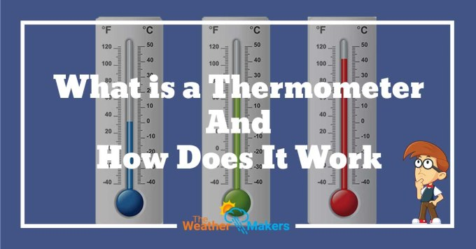how does a thermometer work