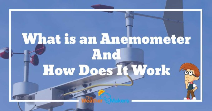 how does an anemometer work