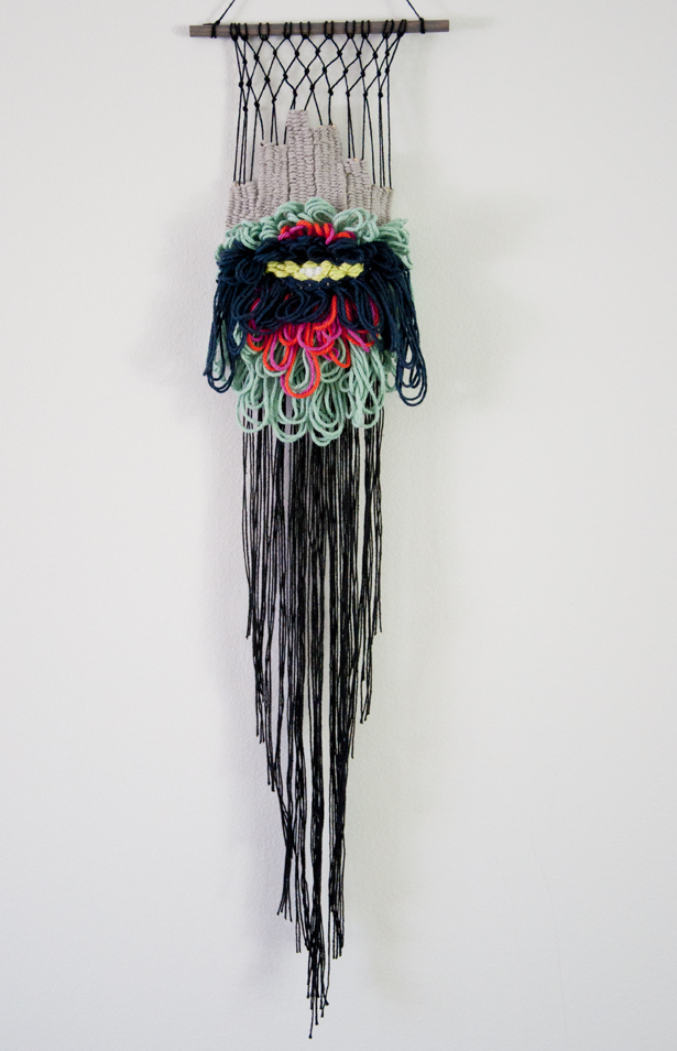 My Loopy Flower Weave | The Weaving Loom