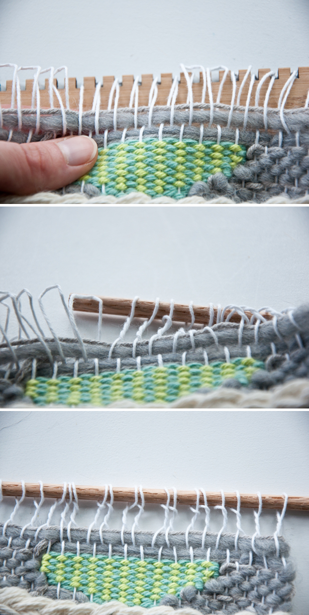 Hanging Your Weave- how to use your Unusual Pear Loom|The Weaving Loom