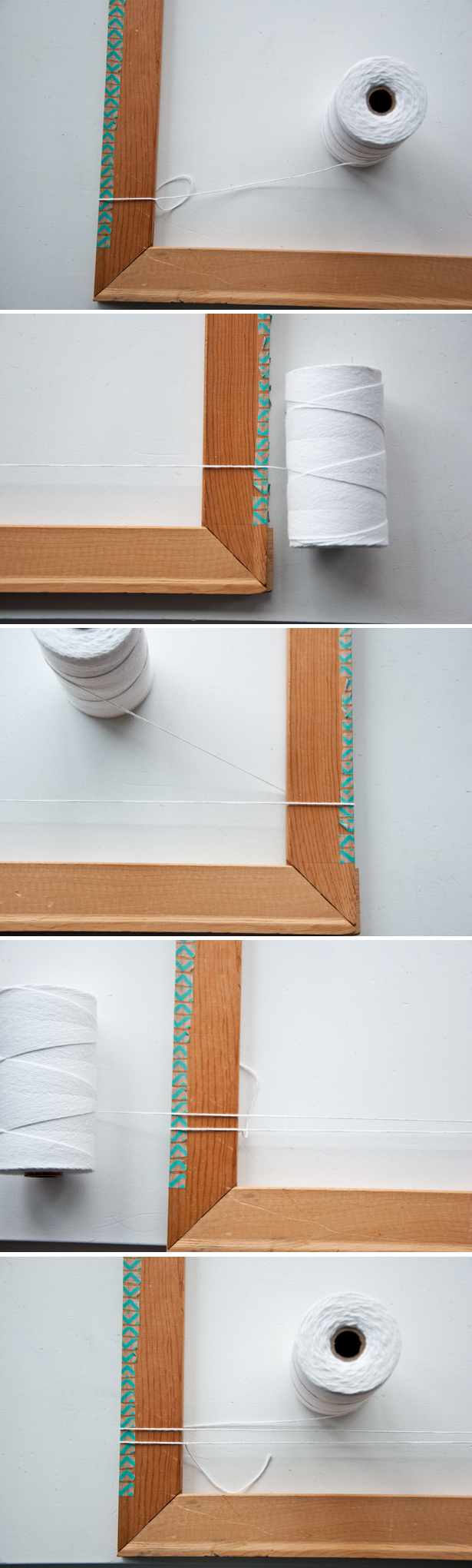 Detailed How To Warp a Frame Loom | The Weaving Loom