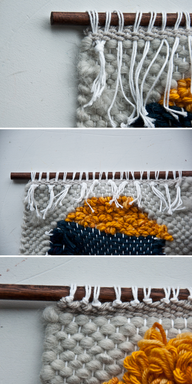 Tie-off Hang a Weave | The Weaving Loom