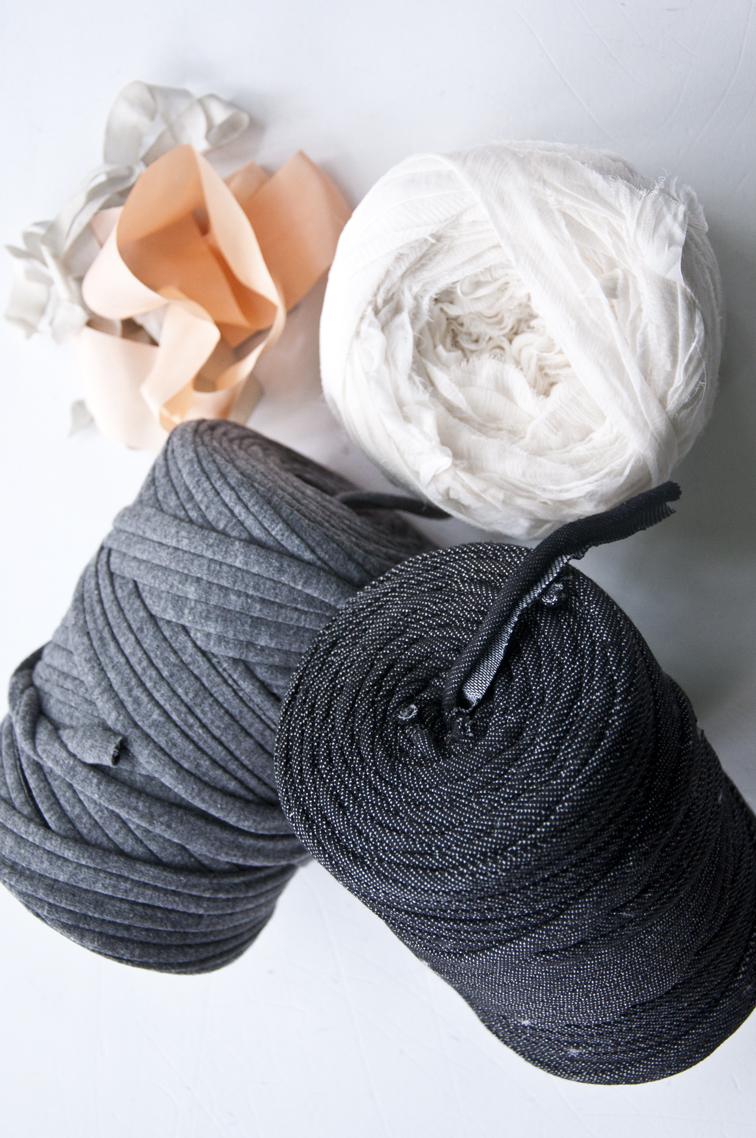 Weaving materials that aren't yarn!