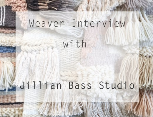 Weaver Interview || Jillian Bass Studio