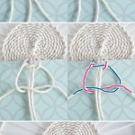 Weave This Make Your Own Macrame Curtain Tie The Weaving Loom