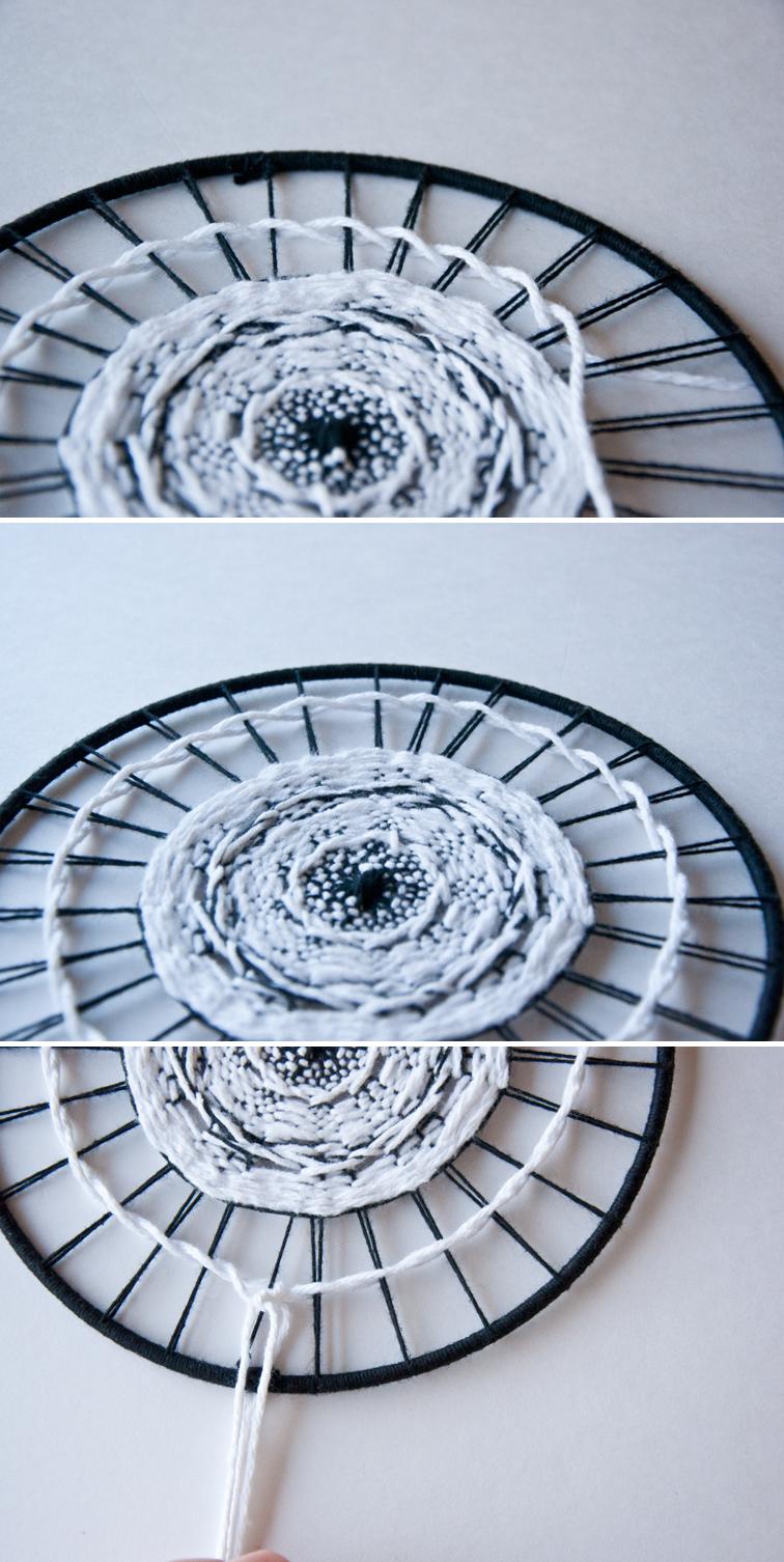 Twinning tutorial on a Circular Weave