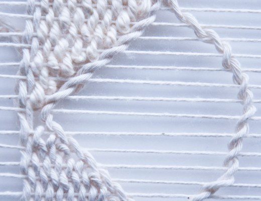How to Weave Scallops