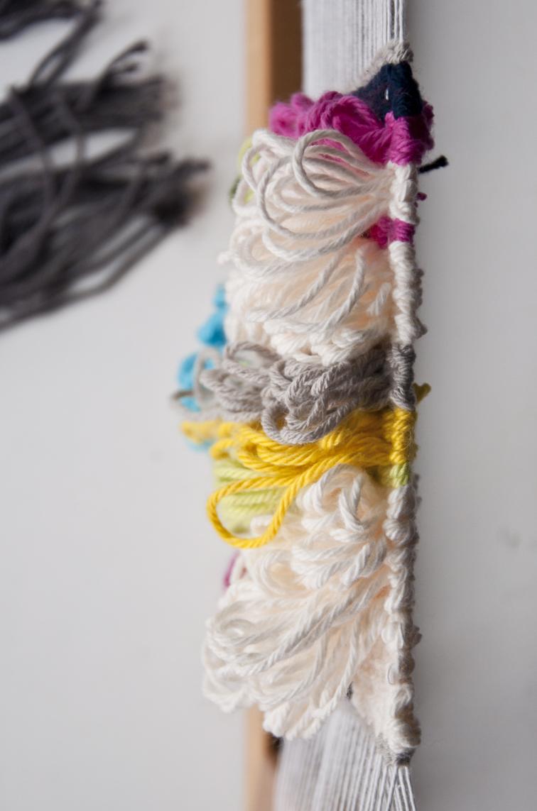 Fun With The Pile Weave Weaving Loops The Weaving Loom