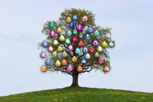 internet icon tree
