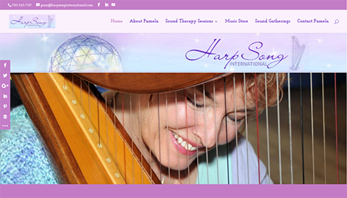 Harpsong International Sound Therapy