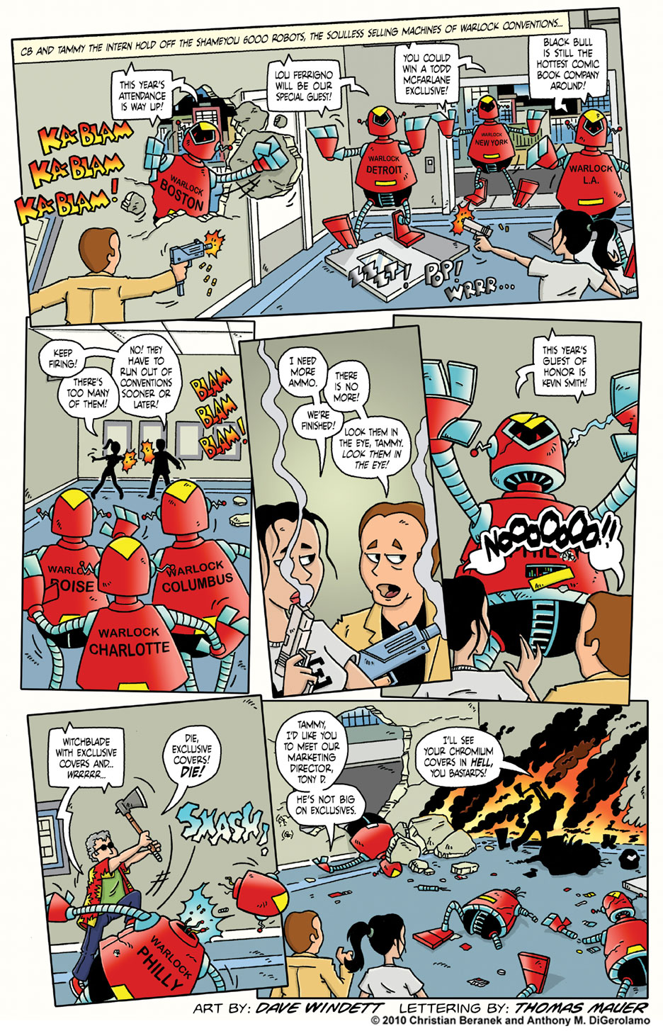 Comic Book Mafia #5: See You at Warlock!