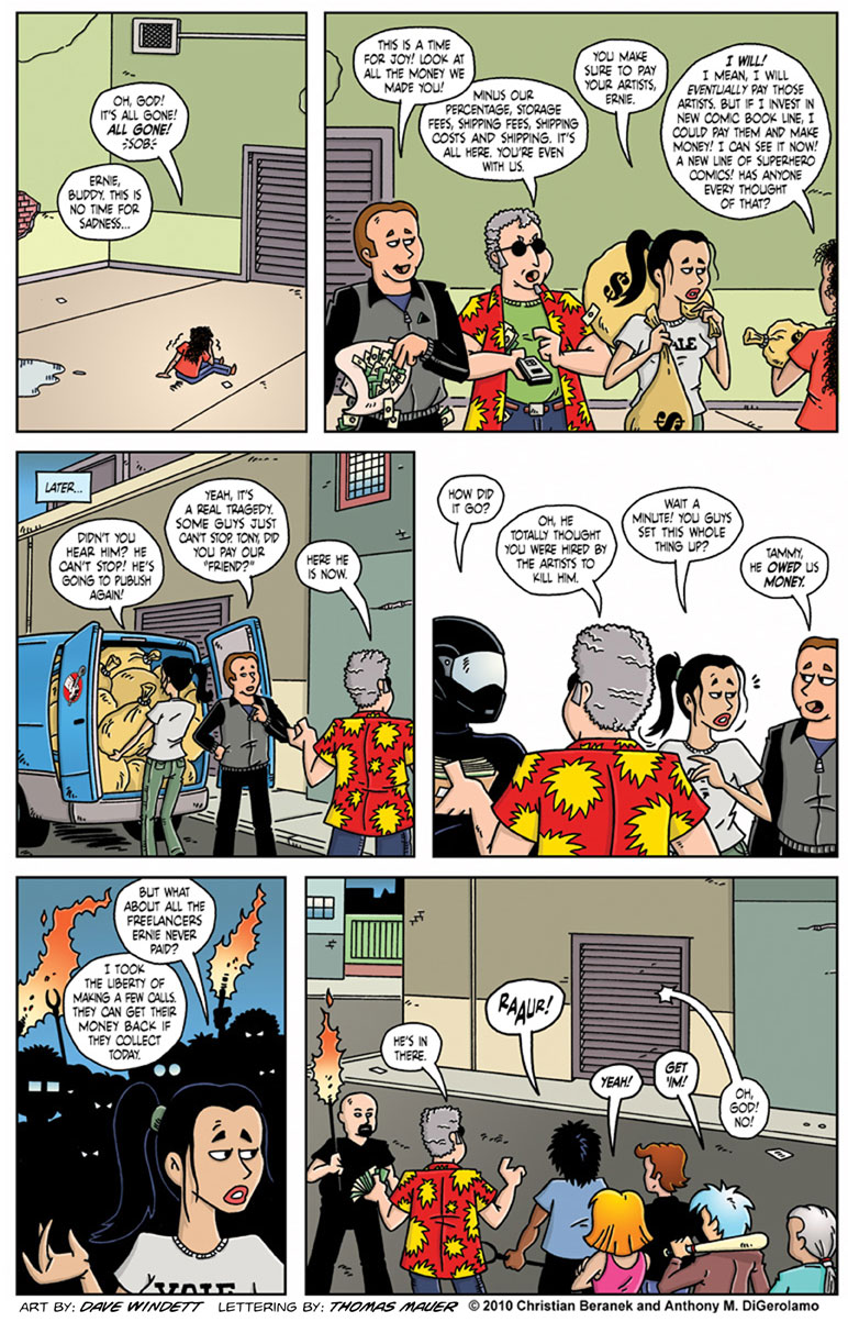 Comic Book Mafia #13: The Degenerate Comic Book Publisher