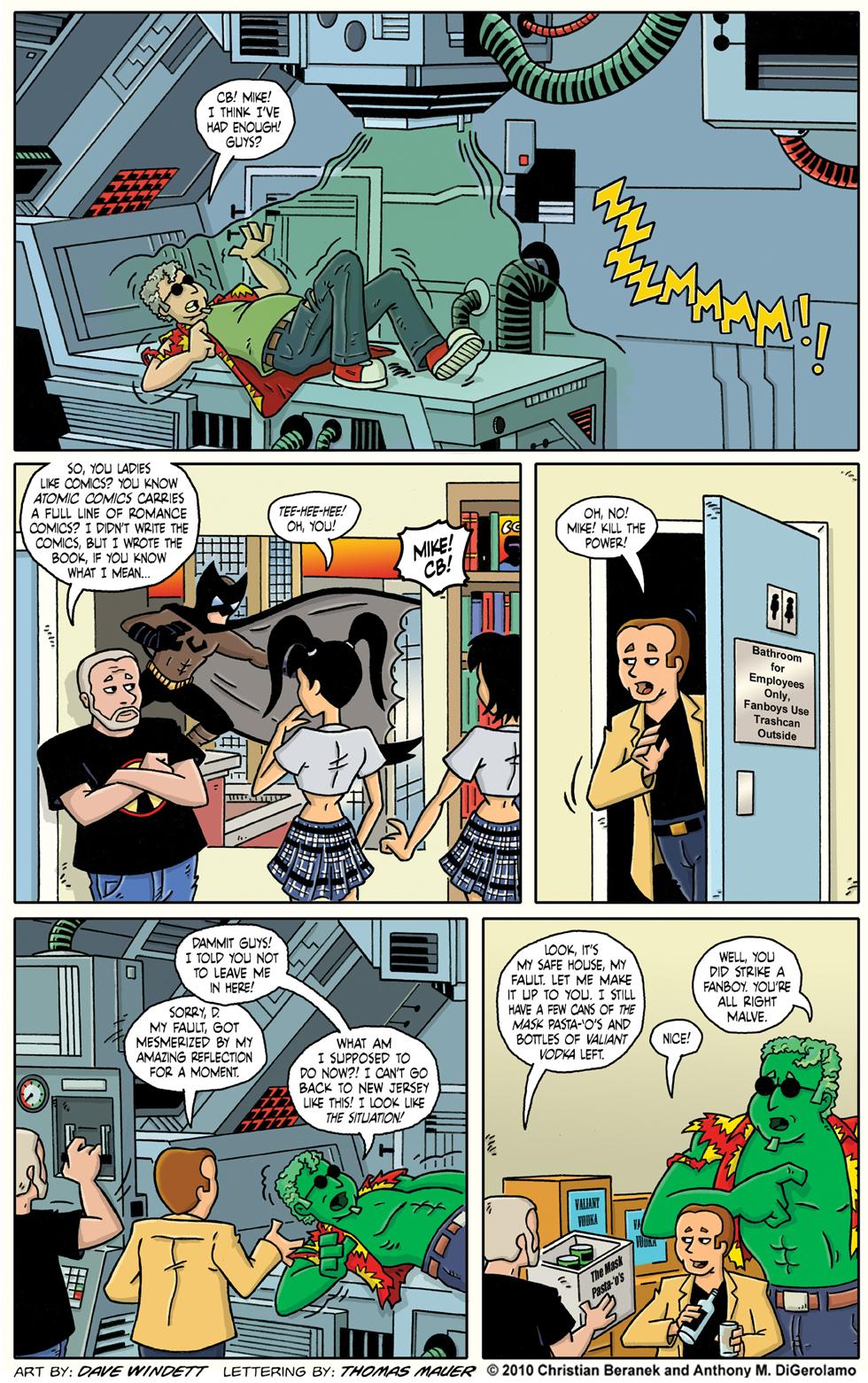 Comic Book Mafia: The Regeneration Machine