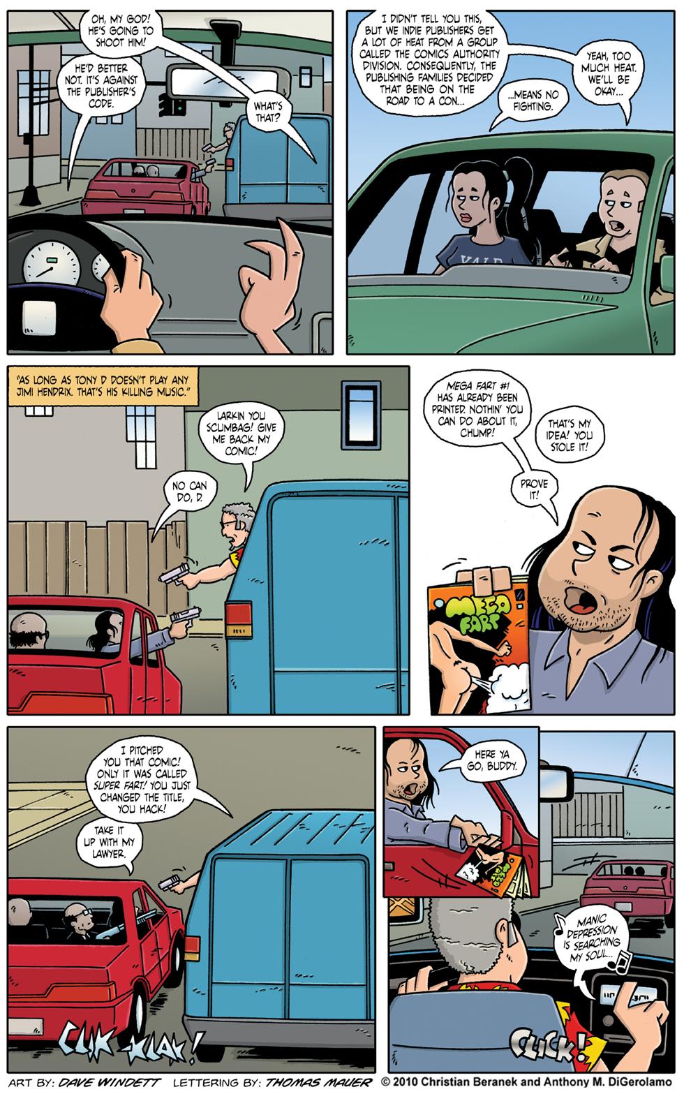 Comic Book Mafia: Killin' Music
