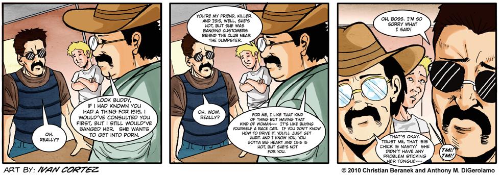 The Gentlemen's Club #33: Killer Confrontation