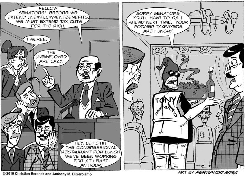 Tony Destructo: Congress Works