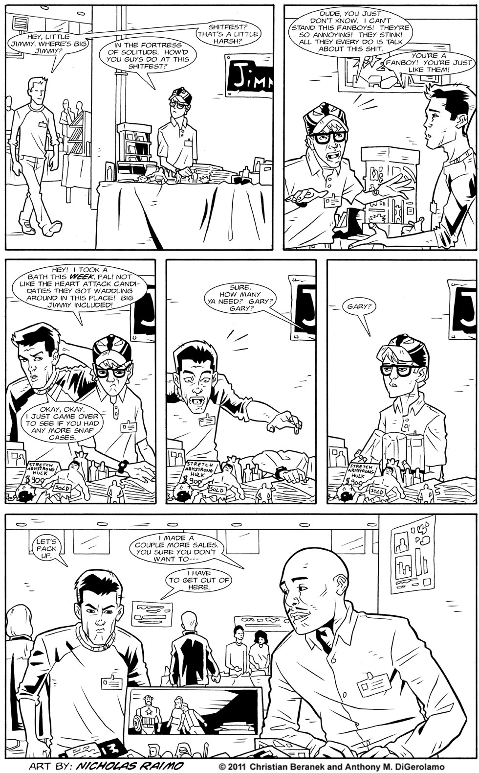 Dealers #24: A Hard Lesson in Dealing