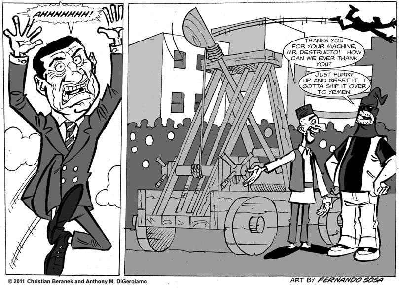 Tony Destructo: The Tyrant-a-pult