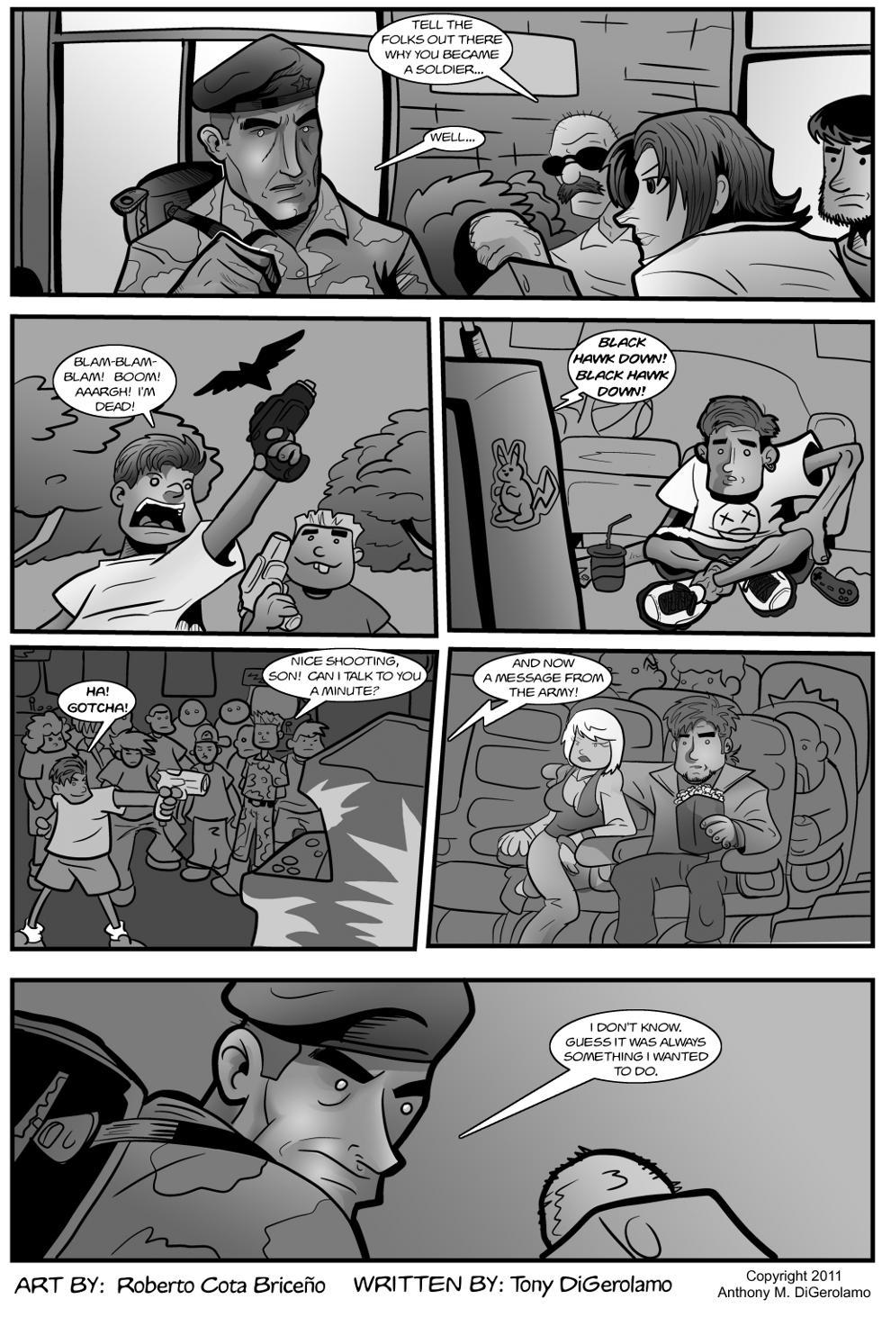 The Antiwar Comic:  No Reason
