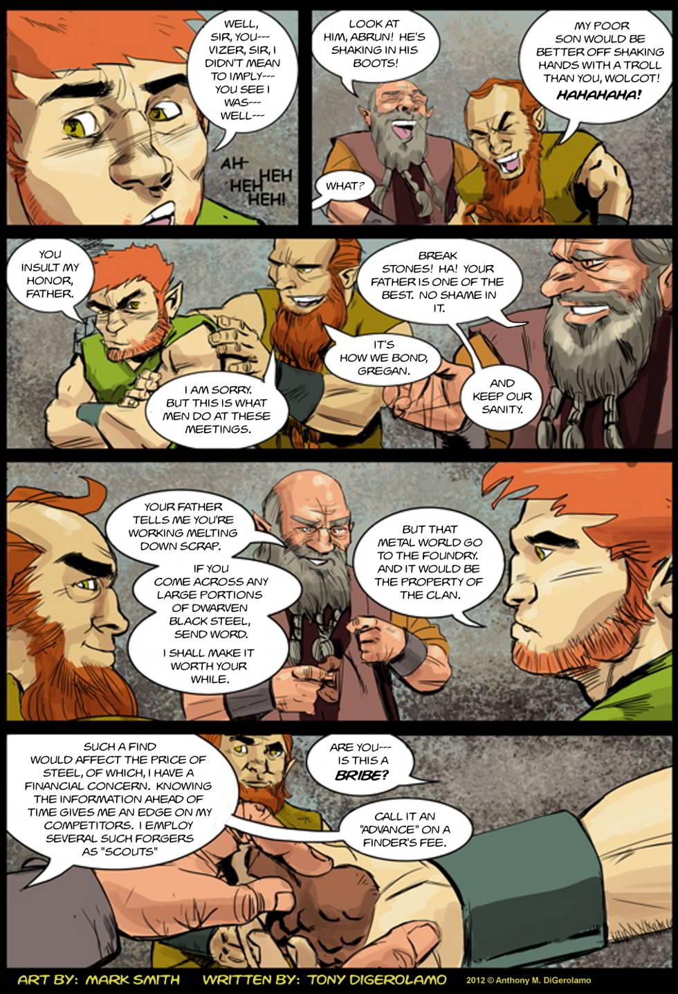 Kingdom of the Dwarves:  Breaking Stones