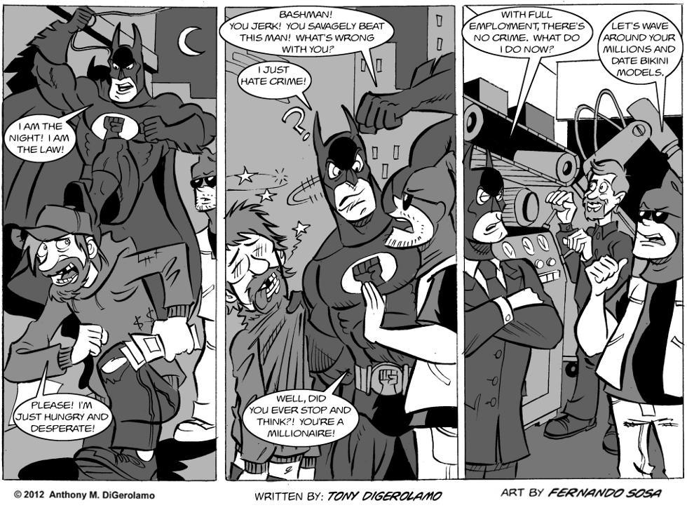 Tony Destructo:  A New Plan for Bashman