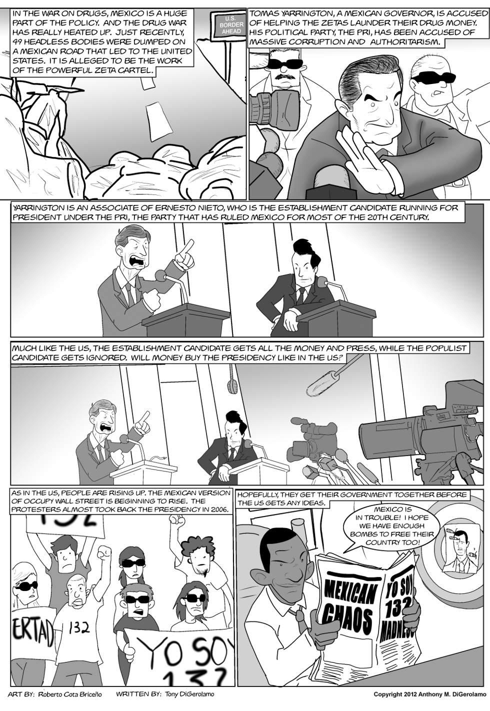 The Antiwar Comic:  Corruption is Universal