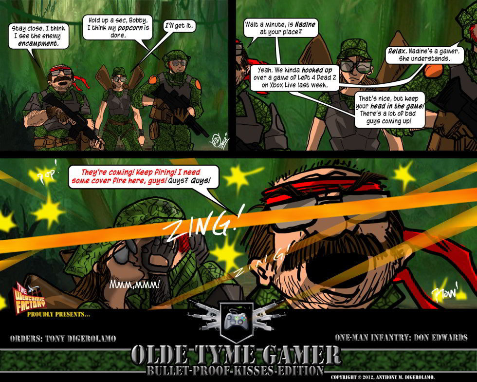 Olde Tyme Gamer:  Distractions