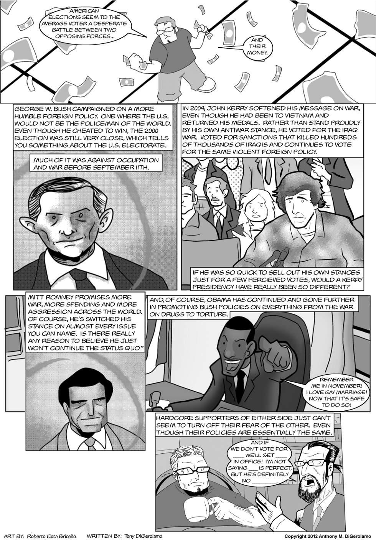 The Antiwar Comic:  Meet the New Boss