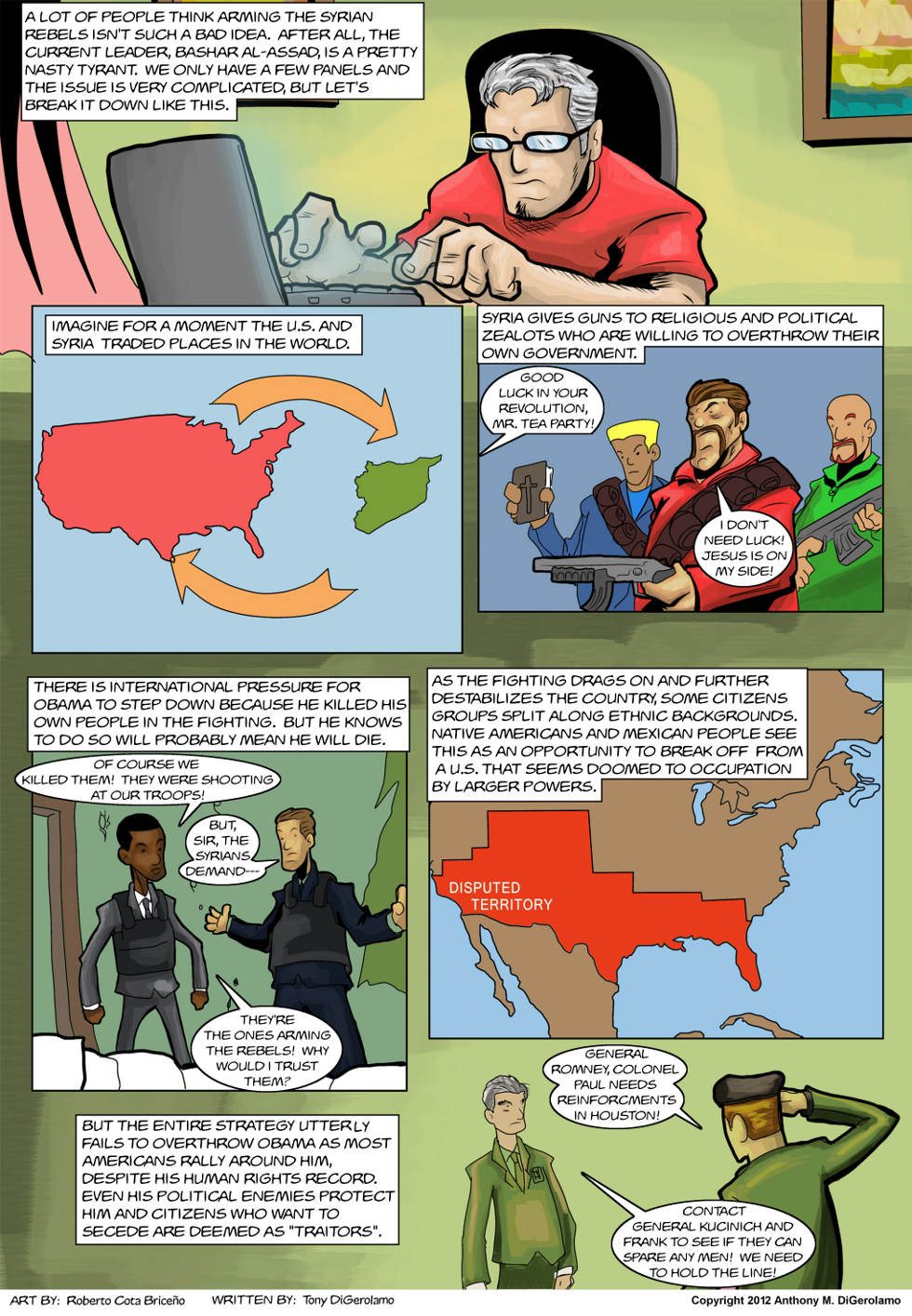 The Antiwar Comic:  What's the Deal with Syria?
